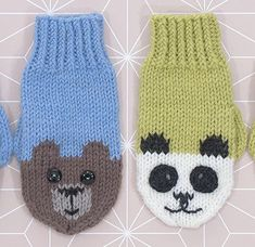 Knitted Mittens Pattern, Baby Hat Knitting Pattern, Crochet Socks, Baby Hats Knitting, Crochet Gloves, Knitted Slippers, Knit Mittens, Knitting Socks, Knitted Hats