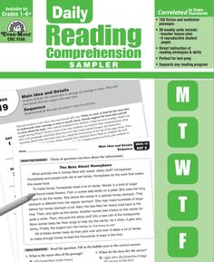 Pin by evan moor educational publishers on writing ideas activities daily reading comprehension incorporating research based strategies and skills fandeluxe Images