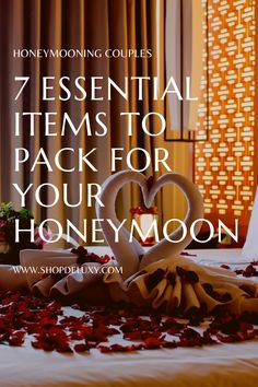 During the post-wedding getaway or honeymoon, it's also quite common that you overpack or forget something important. And This article will discuss 7 essential items to pack for your honeymoon to help you avoid this scenario. #deluxy #honeymooning #honeymooningcouple #newlyweds #honeymoonstuff #afterthewedding Best Engagement Gifts, Wedding Gifts For Couples, Unique Bridal Shower Gifts, Surprises For Her, Best Honeymoon Destinations, Cheap Wedding Venues, How To Sleep Faster, Romantic Getaway, Post Wedding