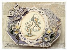 Cards by Barbara: All About Magnolia Challenge #1 Anything Goes - RE...