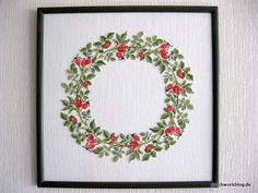 We have this book still at the shop. I just love the botanical Danish Cross stitch designs.