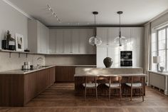 Another beautiful kitchen project done by Nordiska Kök, In a Stockholm apartment this time. Kitchen Inspirations, Beautiful Kitchens, Kitchen Remodel, Kitchen Decor, Modern Kitchen, Open Plan Kitchen, Fusion Kitchen, Home Kitchens, Timeless Kitchen