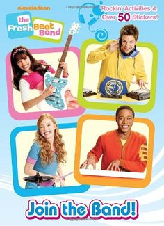Join the Band! (Fresh Beat Band) (Full-Color Activity Book with Stickers)