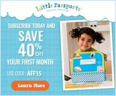 JustAddCoffee- The Homeschool Coupon Mom : Little Passports is currently offering 40% off the...