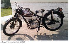 Csepel 100/48. Ez volt az első Csepel márkajelzésű motorkerékpár. Közel tízezer darabot gyártottak 1950-ig.
