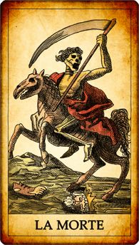 "Tarrots: ""La Morte""- The Death"