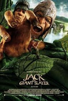 JACK THE GIANT SLAYER  - The beloved fairy tale Jack and the Beanstalk gets the big-screen treatment courtesy of director Bryan Singer (Valkyrie) and screenwriters Darren Lemke, Christopher McQuarrie , and Dan Studney in this fantasy adventure about a naïve farm boy who attempts to rescue a beautiful princess from a race of vengeful giants. When Jack inadvertently opens a passageway that allows giants to cross into our reality, the towering titans stake their claim on the world of humans.