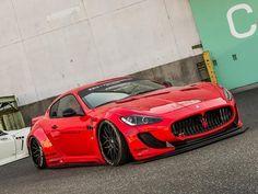 Liberty Walk Maserati GranTurismo   PistonHeads