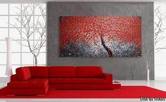 Origineel abstract acryl schilderij moderne door acrylkreativ WOW!!