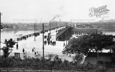 Photo of Barrow In Furness, Walney Bridge 1912 English Islands, Barrow In Furness, Irish Sea, West Coast, Old Photos, Paris Skyline, Bridge, Street View, Scene