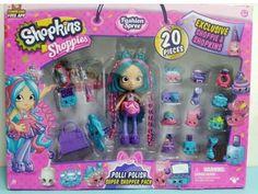 Shopkins Shoppies Super Shopper Pack Polli Polish Exclusive *New In Box* Shopkins Game, Shopkins Bday, Shopkins Season, Shoppies Dolls, Shopkins And Shoppies, Disney Dolls, Barbie Dolls, Toys For Girls, Kids Toys