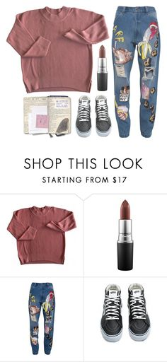 """Untitled #158"" by tamara-xox ❤ liked on Polyvore featuring MAC Cosmetics, Ashish, Vans, women's clothing, women, female, woman, misses, juniors and casual"