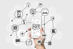 Internet of Things (IOT) concept with hand holding smart phone stock photo Internet Of Things, Seo Training, Cloud Computing, Oil And Gas, Money Management, Science And Technology, Ecommerce, Digital Marketing, Content Marketing