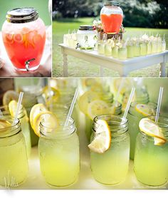 Outdoor wedding in the south - why not provide cool drinks for the guests before the ceremony starts?