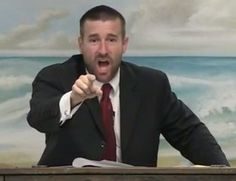 Faithful Word Baptist Church pastor Steven Anderson says HIV is God's judgement on LGBTI people and that 'if you executed the homos like God recommends you wouldn't have all this AIDS running rampant'