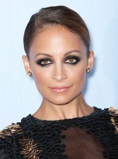 Nicole Richie's ULTIMATE smoky eye. Try Jouer's Eye Definer in Noir then smudge Jouer's Eyeshadow in Licorice
