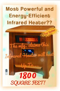 Best Infrared Heaters - My List of Top-Rated! on Pinterest | Infrared