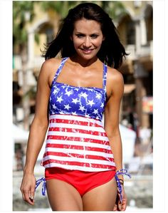 22ed49314e The tankini swimwear is featuring shoulder strap design