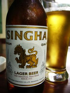 What is Thai food without Singha Beer???