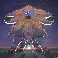 The Sun is Rising by Reina-Kitsune.deviantart.com on @DeviantArt (Solgaleo)