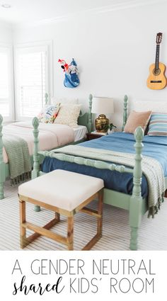 You searched for shared kids room - Claire Brody Designs Big Girl Rooms, Boy Room, Kids Rooms, Gender Neutral Bedrooms, Shared Bedrooms, Kid Bedrooms, Cheap Home Decor, Decoration, Bedroom Decor