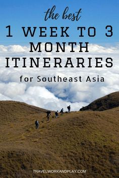 How much time to spend in Southeast Asia? What route to take? Itineraries for Thailand, Cambodia, Vietnam, Laos and Burma. Read on or pin for later!