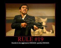 GUNFIGHTER RULE