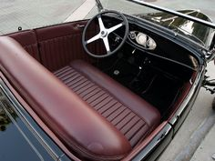 33 Best Model A Interior Images Hot Rods Car Interiors