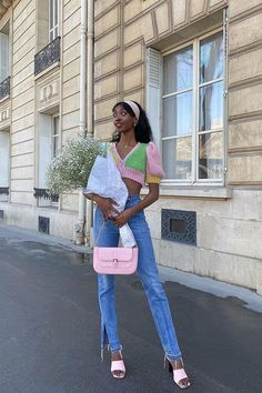 I'm a Paris-Based Model With an Affinity for Basics—6 I Wear Nonstop Basic Outfits, Cute Outfits, Beautiful Outfits, Spring Fashion, Girl Fashion, Denim Fashion, Fashion Ideas, Fashion Inspiration, Fashion Outfits