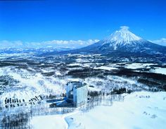 Skiing in Japan, on a volcano, at a hotel with a hot spring - outside! Japan Ski Resorts, Best Ski Resorts, Niseko Japan, Skiing In Japan, Stations De Ski, Hilton Hotels, Enjoy Your Vacation, Japan Travel, Asia Travel