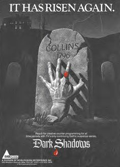 1983 ad for syndication of the original Dark Shadows TV series