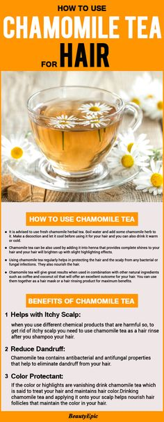 Chamomile Tea for Hair: Surprising Benefits & How to Use