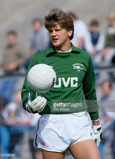 Arsenal goalkeeper John Lukic in action during their Division match against Coventry City at Highfield Road September 1985 Arsenal won 20 Arsenal Players, Arsenal Football, Football Kits, Arsenal Fc, Football Jerseys, British Football, Retro Football, Vintage Football, Der Club