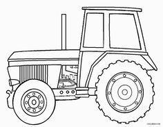Traktor Ausmalbilder Malvorlagen Für Kinder Basteln Coloring