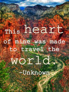 Travel Inspiration from Zion National Park in Southern Utah