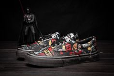 fd32fa53f2 Lu Han endorsement Star Wars Star Wars x Vans Common retro to do the old  custom