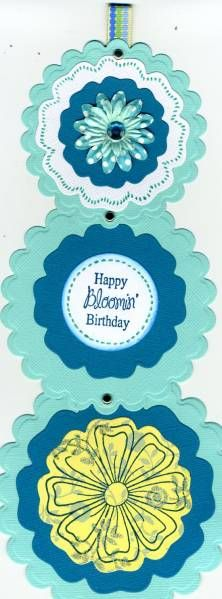 telescoping card by Elaine Fitchpatrick - Cards and Paper Crafts at Splitcoaststampers