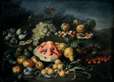 The artwork Still Life - Bartolomeo Bimbi we deliver as art print on canvas, poster, plate or finest hand made paper. Be Still, Still Life, Giuseppe Arcimboldo, Canvas Prints, Art Prints, Large Canvas, Hand Painted, Sculpture, Rococo