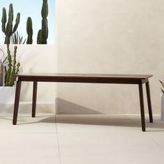 Shop artemis rectangular dining table.   Designer Jannis Ellenberger explores the beauty of a spare, simple form.