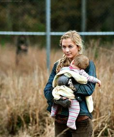 The Walking Dead season 4 ep16 Beth & Judith