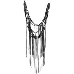Aten Necklace ($13) ❤ liked on Polyvore featuring jewelry, necklaces, accessories, colares, collares, chain jewelry, chain necklace, brass collar necklace, chain collar necklace and multi layered necklace