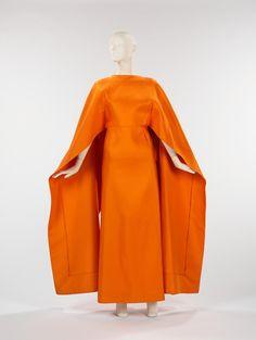 Madame Grès dress ca.1967 via The Costume Institute of the Metropolitan Museum of Art