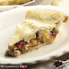Harvest Fruit & Nut Pie with apples, cranberries, pineapple and walnuts from 101 Autumn Recipes Cookbook by Gooseberry Patch Nut Pie Recipe, Recipe Box, Apple Recipes, Fall Recipes, Cookbook Recipes, Cooking Recipes, Delicious Desserts, Yummy Food, Gooseberry Patch