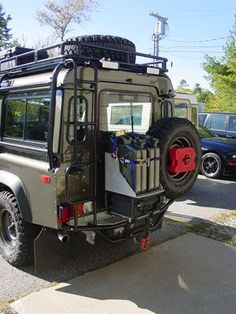 Defender 110 Td5 automatic conversion