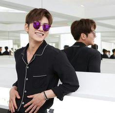 05/27/2016 Ji Chang Wook de Asistir a eventos Gentle Monster Gafas de sol en Pekín