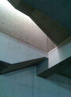 Concrete staircase. #concrete