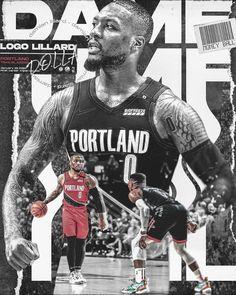 2 on Behance Mvp Basketball, Basketball Videos, Basketball Design, Top Nba Players, Nba Pictures, Damian Lillard, Sports Graphic Design, Sports Graphics, Nba Stars