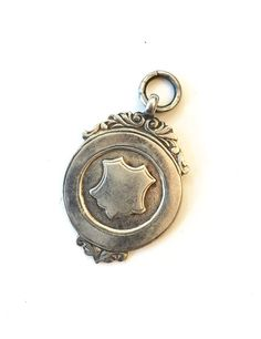 Antique Victorian Sterling Silver Fob by AntiqueJewelryForFun