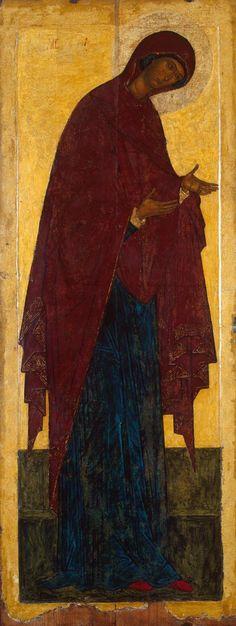 The Virgin, Moscow School, Late century Byzantine Icons, Byzantine Art, Russian Icons, Russian Art, Early Christian, Christian Art, Religious Icons, Religious Art, Hermitage Museum