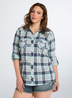 Plaid Camp Shirt, PLAID ALIKE